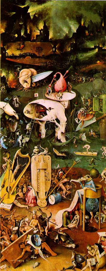 Deep Purple - Deep Purple (1969) Bosch_enfer